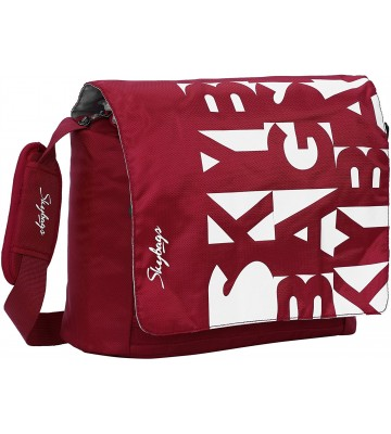 Skybags Spike Unisex Messenger Bag (MBSPIRed)