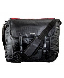 FASTRACK MEN POLYESTER BLACK BAG - A0321NBK01