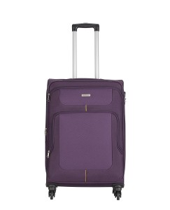Aristocrat Polyester 71 cms Purple Suitcase (STCAMW71PPL)
