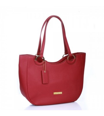 CAPRESE TORY TOTE LARGE ROUGE