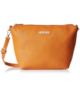 Caprese Sydney Women's Sling Bag (Orange)