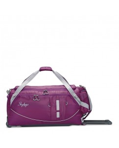 SKYBAGS AER PLUS DUFFLE TROLLEY CHECK-IN PURPLE