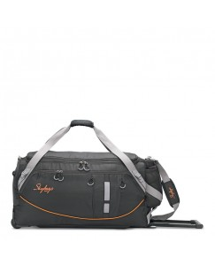 SKYBAGS AER PLUS DUFFLE TROLLEY CHECK-IN BLACK