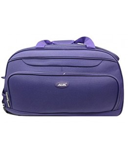Alfa Polyester 55 Cms Purple Travel Duffles