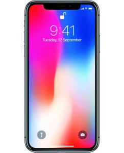 Apple iPhone X (Space Gray, 256 GB