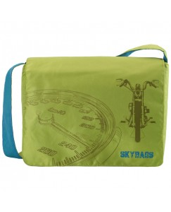 SCOUT LAPTOP MESSENGER BAG LIME GREEN