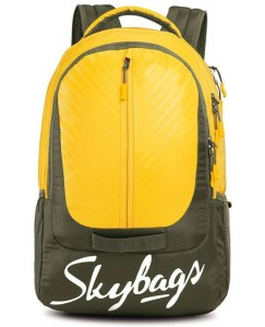 LAZER PLUS 03 LAPTOP BACKPACK YELLOW