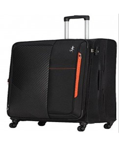 Skybags Brooklyn Polyester 81 cms Black Soft Sided Suitcases (STBROW81BLK)